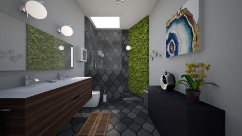 natural grays - Modern - Bathroom - by katsumi1016