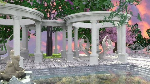 Fountain of Youth - Classic - Garden - by Bibiche