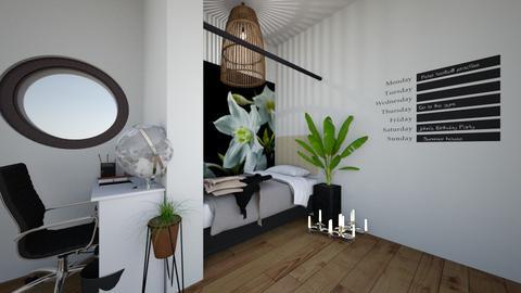 pc - Modern - Bedroom - by neha123