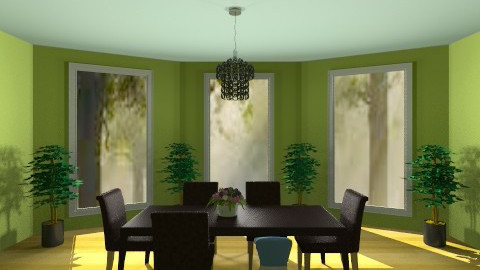 My Green Kitchen - Modern - Kitchen - by Jenny_Gon_023