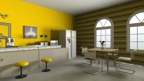 kitchen - Modern - Kitchen - by Brigita_031