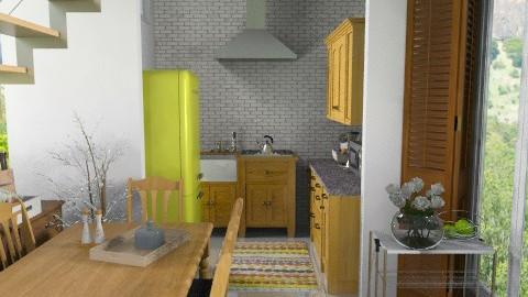 kitchen renovation - Rustic - Kitchen - by sahfs