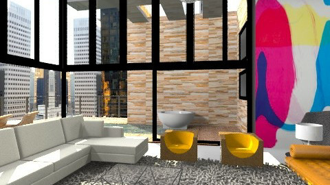 apartment  - Modern - Living room - by austinajk