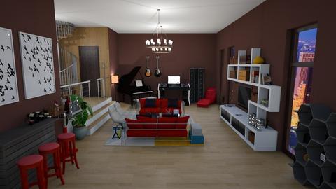 Ny - Classic - Living room - by kellynazha