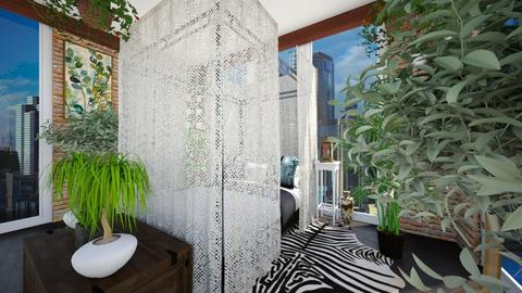 Urban Jungle View 5 - Bedroom - by SammyJPili
