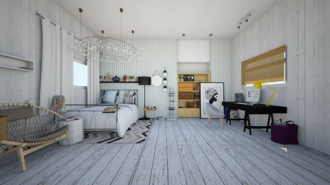 White Love - Classic - Bedroom - by Bao Tran