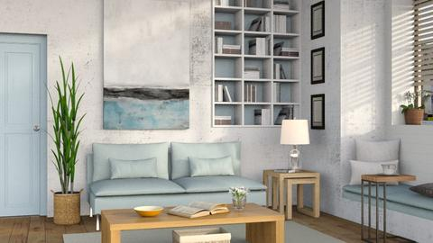 Simply Blue - Living room - by Sally Simpson