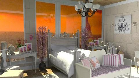 An Evening In Paris - Feminine - Bedroom - by deleted_1519128424_HeatherInWonderl