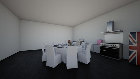 kitchen  - Glamour - Kitchen - by raewatson589