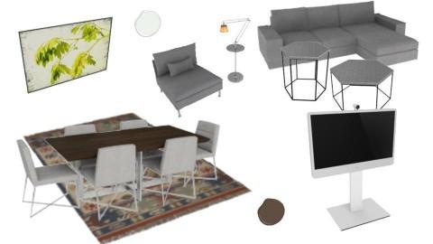 Grafit Livingroom  - by nelly_wreland