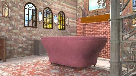Castle - Vintage - Living room - by natural11