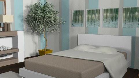 Design 1 - Minimal - Bedroom - by blondina14