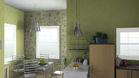 Kotán Krisztina - Minimal - Kitchen - by kokrisz