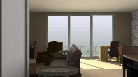 Hallway into Living Room/Dining - Retro - Hallway - by russell_brandon