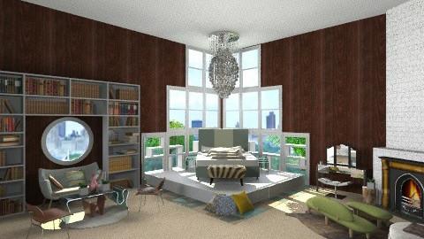bedroom - Retro - Bedroom - by Desmonde Monroe