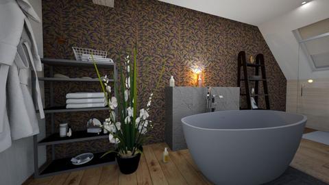 combles 2 - Bathroom - by patouguernion