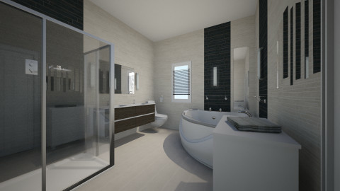 A bathroom_2 - Modern - Bathroom - by Andrea_