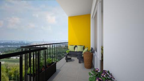 Balcony1 - Garden - by JanaHav