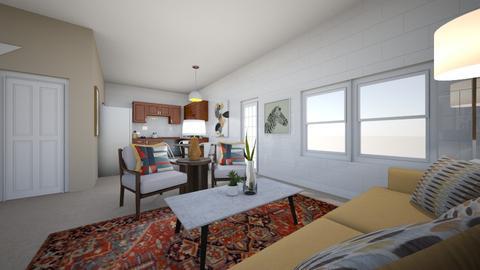 Jackie LR KTCH Entry - Living room - by Nakyla Garrison