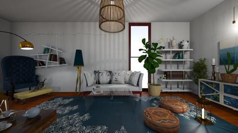 Boho Living Room - Living room - by yaizalloriginal