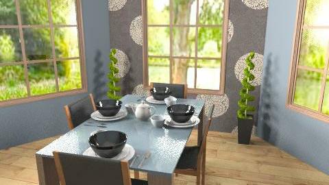Living Area - Modern - Dining room - by lovegirl1782