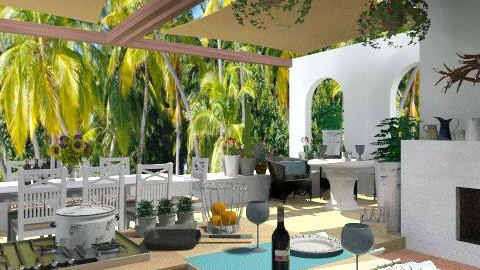 Cooking Paradise - Garden - by lilica