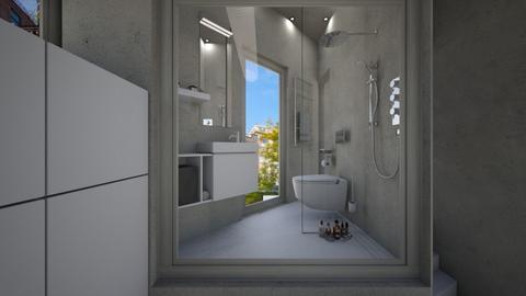 Casa322BAthroom - Modern - Bathroom - by nickynunes