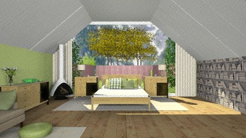 Green room - Modern - Bedroom - by TheDesignQueen