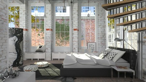 SS bedroom - Bedroom - by liling