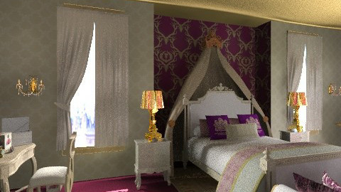 Suite Royale - Classic - Bedroom - by bajbouja