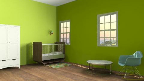 not completed - Retro - Kids room - by frogi