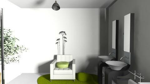 bagno blackrock 2 - Bathroom - by ValeGra