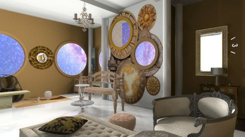 Steampunk Space - Classic - Office - by sinfull