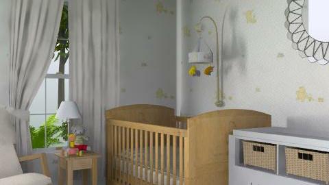 Winne the Pooh - Classic - Kids room - by deleted_1519128424_HeatherInWonderl
