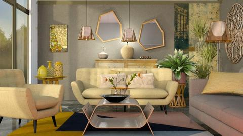 M_MUstard - Eclectic - Living room - by milyca8