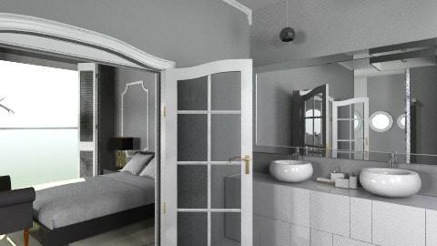 BeachHouse - Rustic - Bathroom - by molesuit