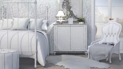 M_ White - Bedroom - by milyca8