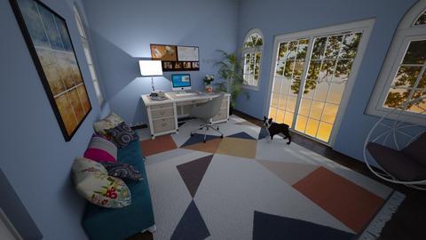Cozy Office - Office - by katherinehartman