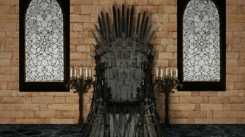 Design 306 Game of Thrones Close Up - Living room - by Daisy320