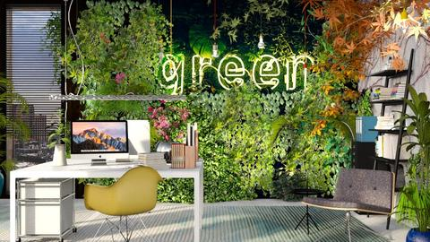 green - Living room - by bnu