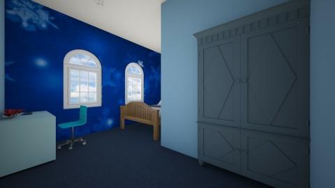 just blue - Bedroom - by Ella_4_dayz