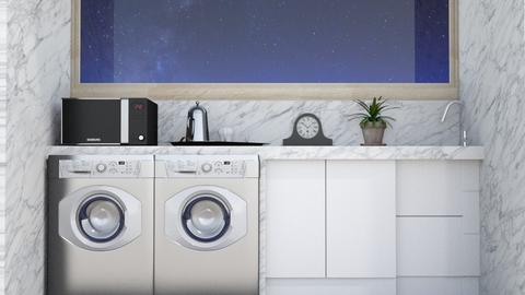 cuarto de lavado Zapata  - by Claudia Servin leyva