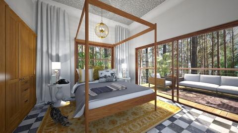 Eclectic Bedroom - Bedroom - by amyskouson