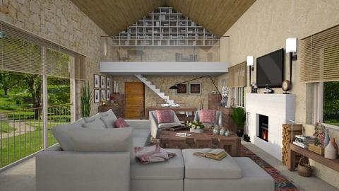 Barnhouse - Living room - by Joao M Palla