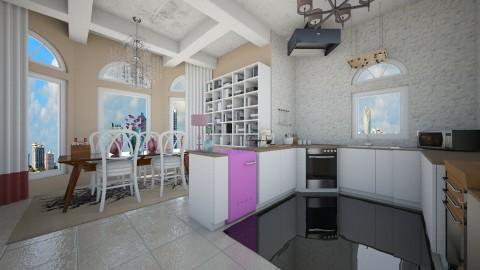cute  - Dining room - by eleonoraxruc
