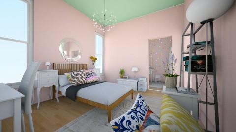 My Room 1 - Bedroom - by Jana Alwidyan