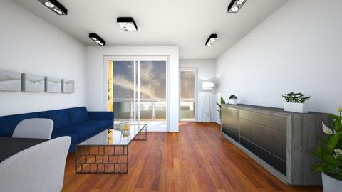 nowe 3 pokoje - Living room - by cyprianziolkowski