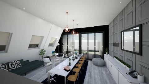 Long Office  - by Gillian Rene