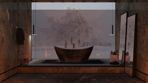 M_Acrylic Bath - Bathroom - by milyca8