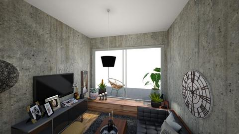 Black and tan  - Modern - Living room - by RobertBlade